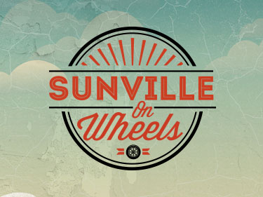 Logo design Sunville on Wheels