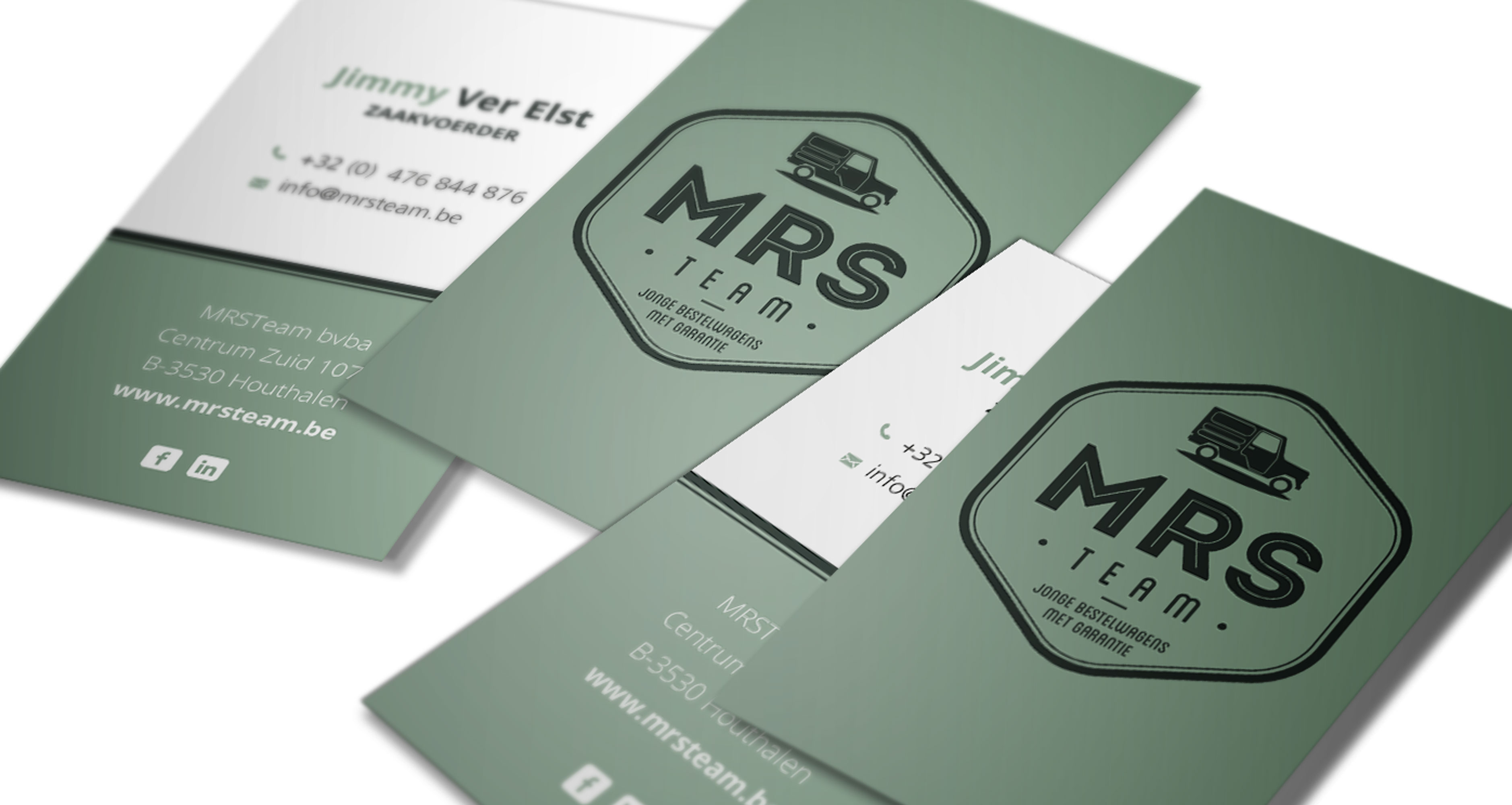 MRS-team website design