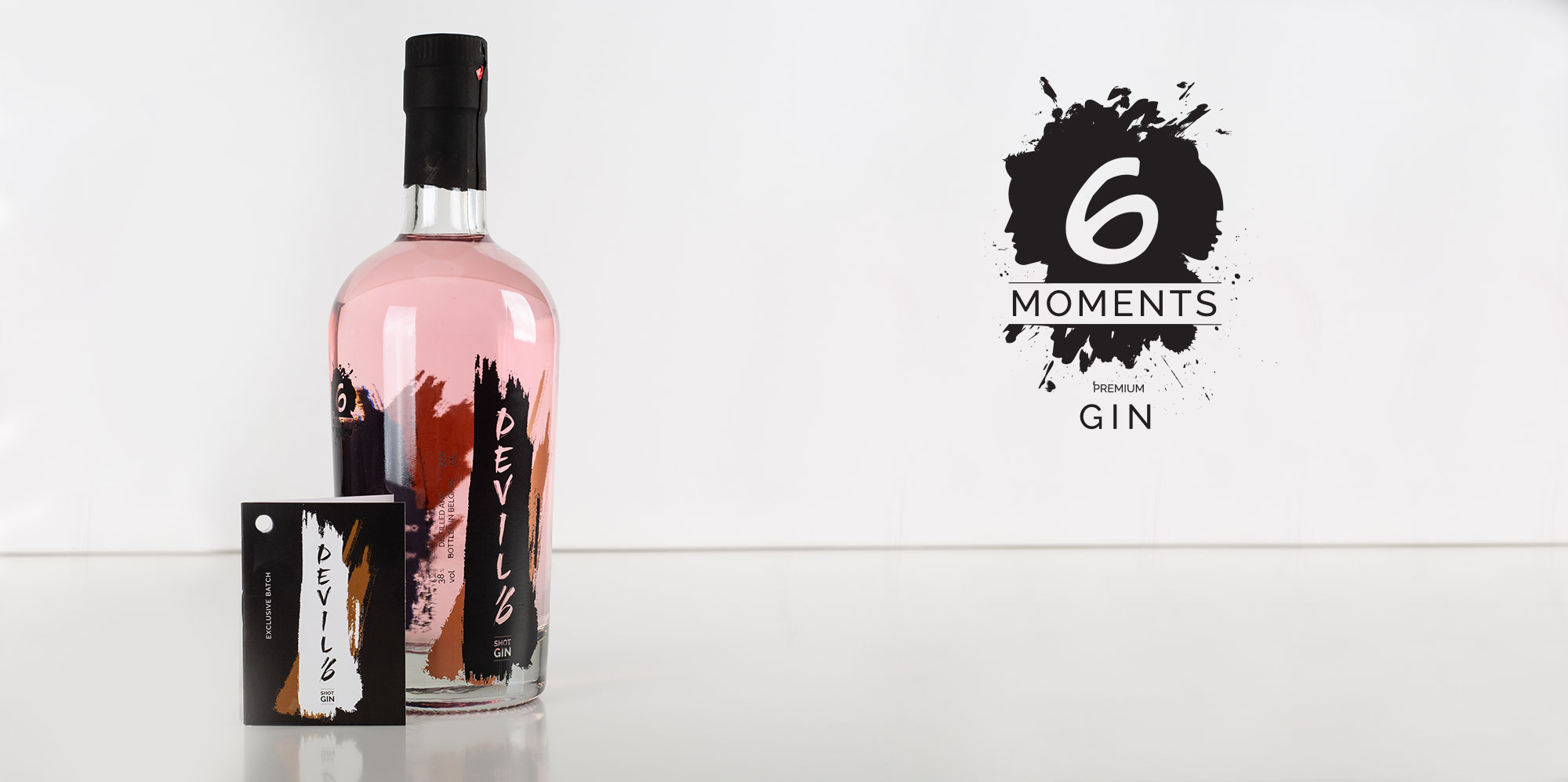 6 moments Belgian Gin